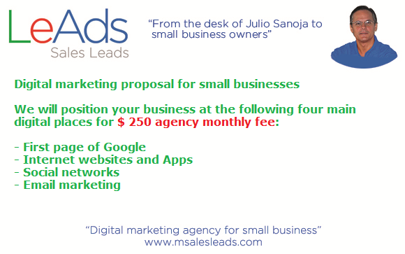USD $ 250 monthly agency fee