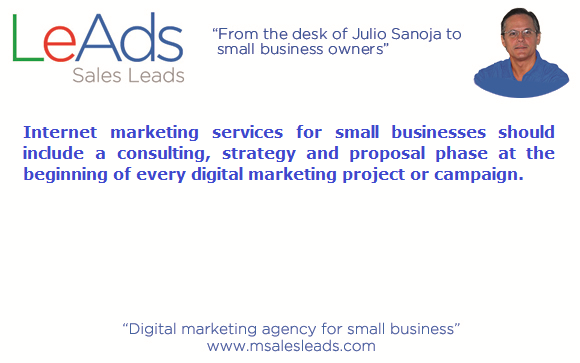 Internet marketing services for small businesses