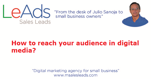 How To Reach Your Audience