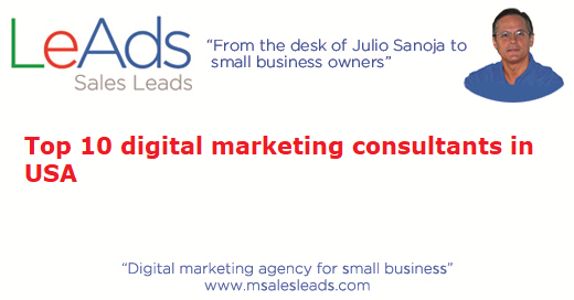 Top 10 Digital Marketing Consultants in USA