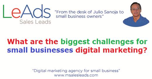 Small businesses digital marketing