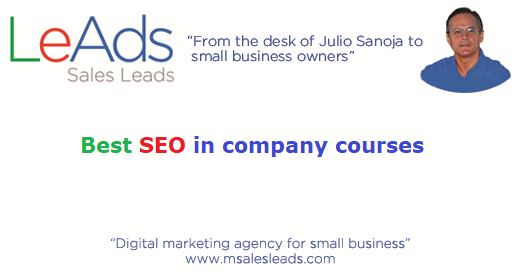 Best SEO in company courses