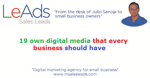 19 Own Digital Media That Every Business Should Have