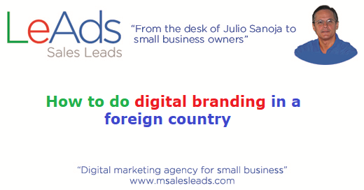 How To Do Digital Branding In A Foreign Country